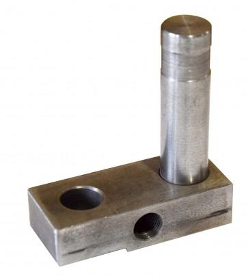 Belt tracking retainer weldment for Master Finisher