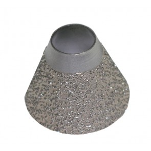 50 mm Diamond Heel Breaster 40/50 grit pour Landis, Supreme, Sutton & Jack Master