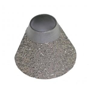 50 mm Diamond Heel Breaster 40/50 grit pour Landis, Supreme, Sutton & Jack Master