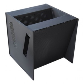 Contenant d'acier pour filtre au charbon