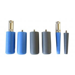 Ensemble de 6 cônes de polissage en silicone