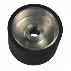 Roue de contact en aluminium et caoutchouc pour Jack Master Auto-Soler